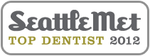 Dr. David Tobias won Seattle Met 2012 Top Dentist Award.