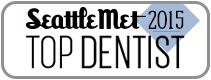 Dr. David Tobias won Seattle Met 2015 Top Dentist Award.