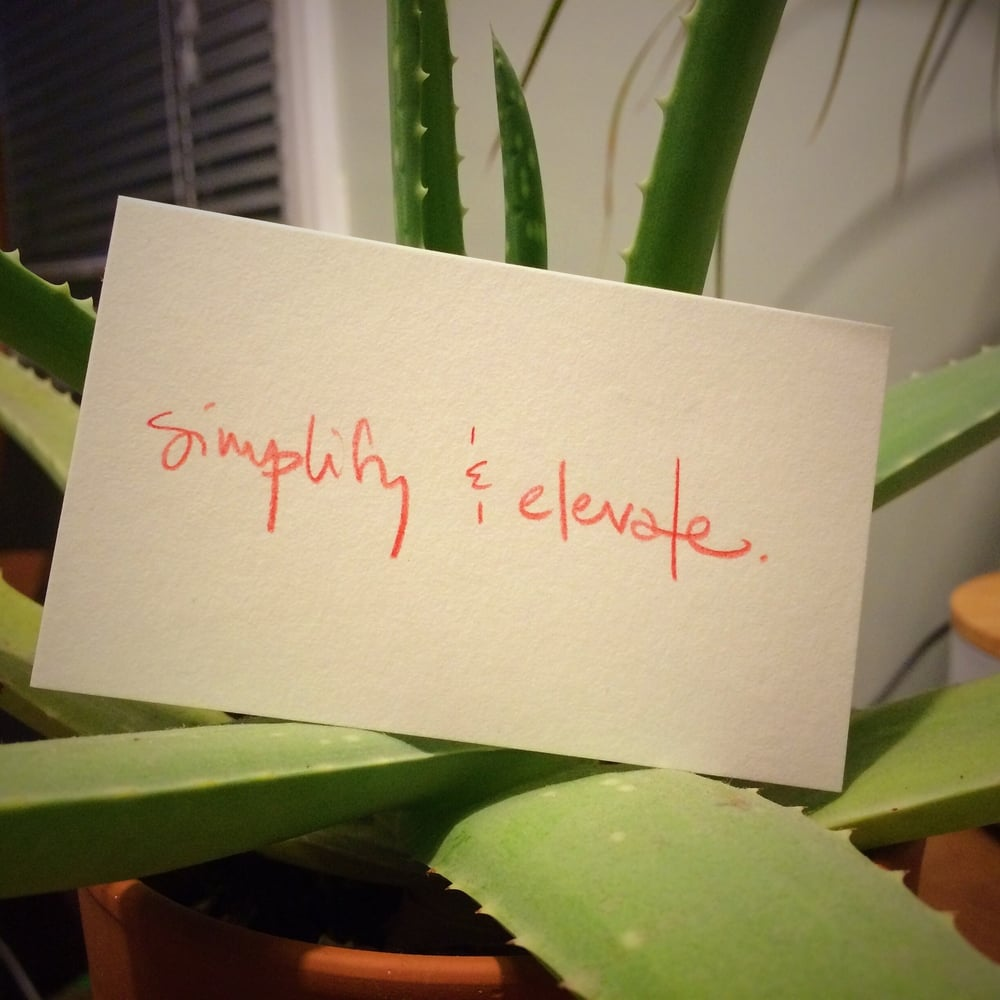 My aloe knows what's up.