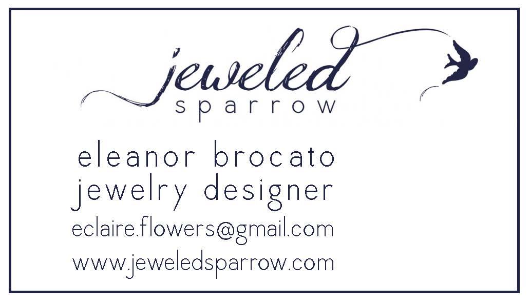 JeweledSparrowBusinessCard