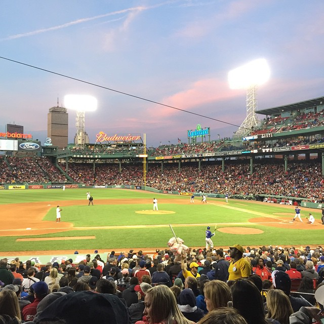 Fenway Park // Boston, MA  Not bad, not bad at all #redsox #boston