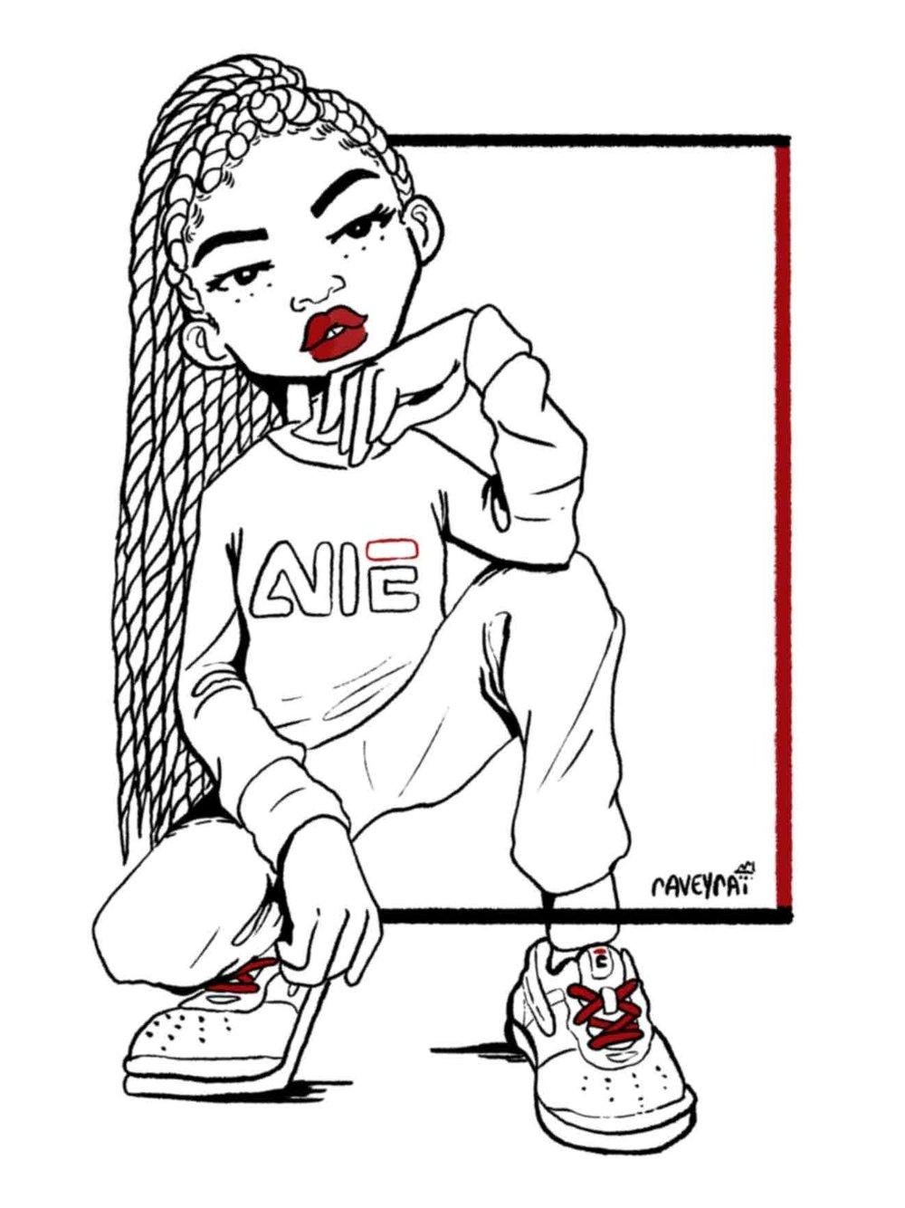 """Inktober Day 11: AIIE © 2017 Raven """"raveyrai"""" White"""