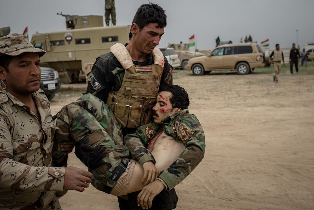 'THE PESHMERGA ISN'T AFRAID OF ISIS' - Foreign Policy - Fighting on the front lines, Kurdish Peshmerga soldiers have joined the Iraqi Army in a bloody battle against the Islamic State. But sharing a common enemy doesn't make them easy allies.