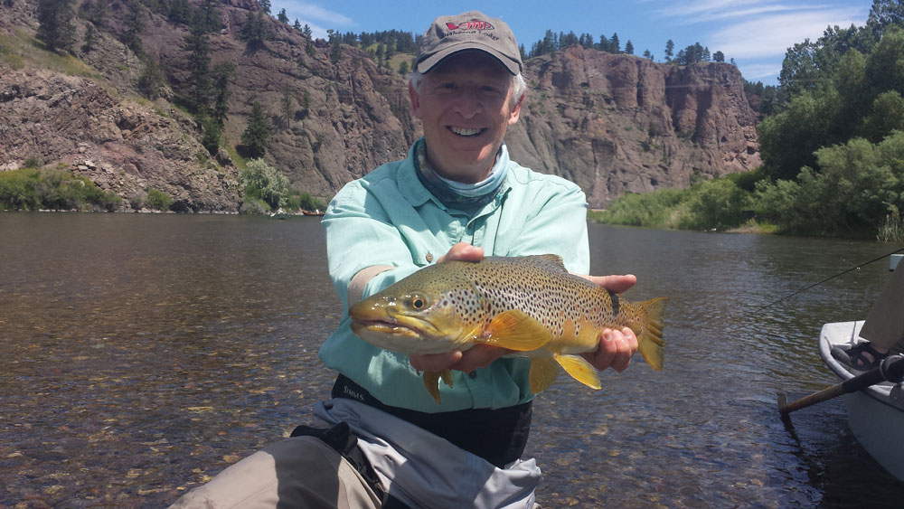 Happy clients on The Missouri River, Montana.