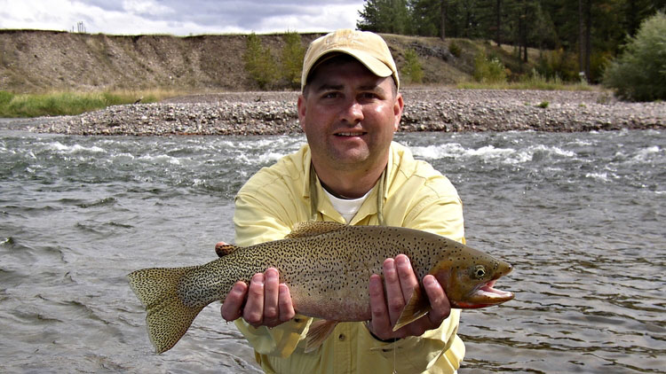 Big Cutthroat Trout on The Blackfoot River