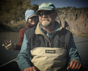 Dave Carnahan, Fly Fishing