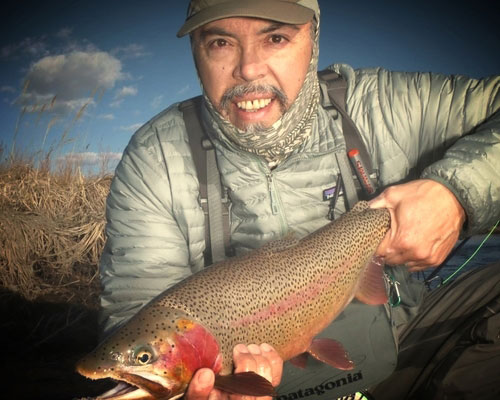 Eric Mondragon, Fly Fishing