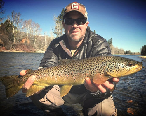 Mark Slayden, Fly Fishing