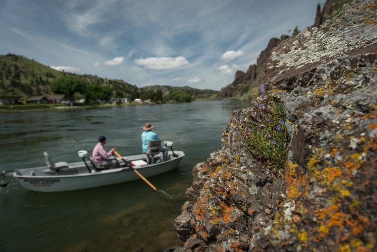 Montana Fishing Outfitters owners Garrett Munson and Pat Straub.