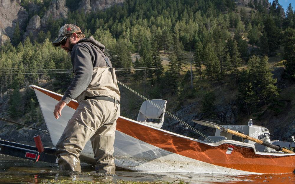 Drew Christian Missouri River Fly Fishing Guide