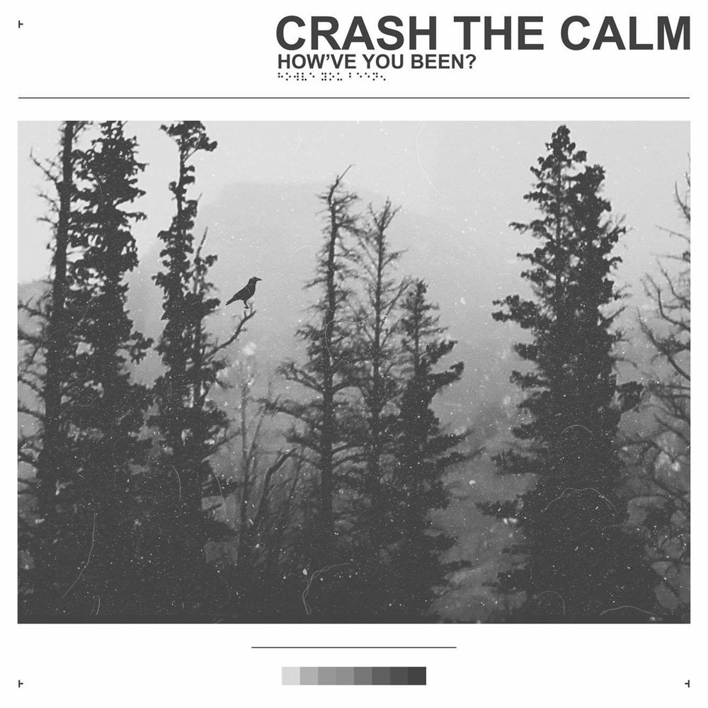 Album artwork for Crash the Calm's debut album,  How've You Been? , designed by Clockwork Visuals.