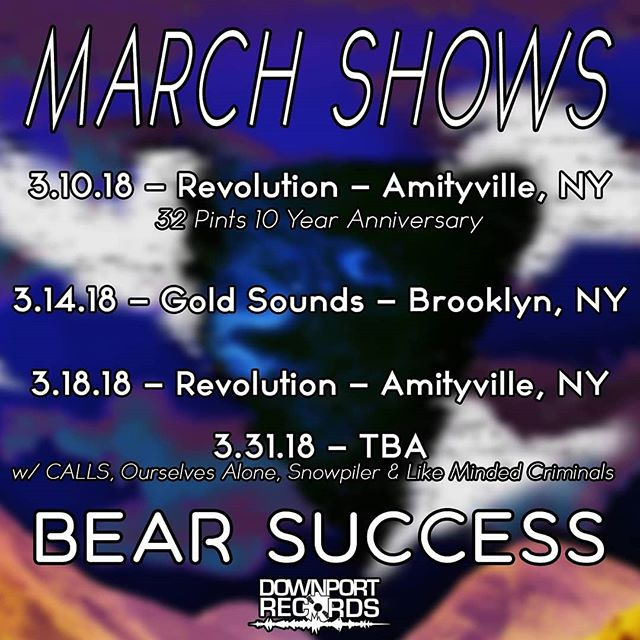 Got some dope shows coming up. We're gonna #rockthatscoober everynight until we're dead. #squil #dynomite