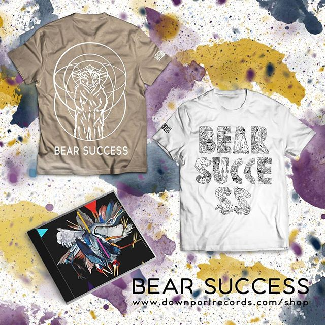 "Anyone need a little more Bear Success merch in there life? Use code ""BS10"" for 10% off your purchase. #merch #coolstuff #scoober #SALE #deals http://www.downportrecords.com/shop"
