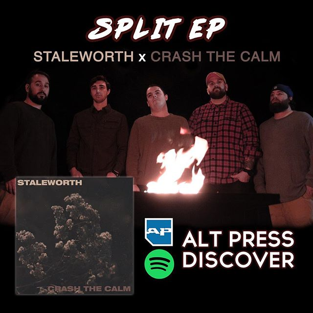 """Thank you @altpress for featuring """"Bad Habits"""" in the Discover playlist on @spotify. Check it out at the link in our bio ✌🏻"""