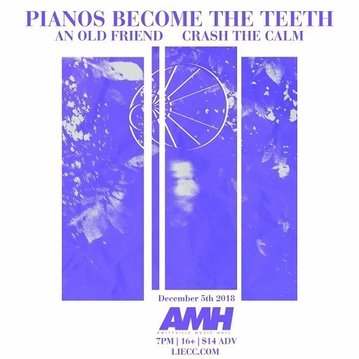 Beyond excited to announce we'll be opening for @pianosband at @amityvillemusichall December 5 alongside our buddies in @anoldfriendli. Drop us a message if you want to grab an advance ticket and we'll see you at the gig!