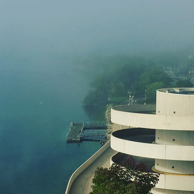 #franklloydwright #fog @mononaterrace