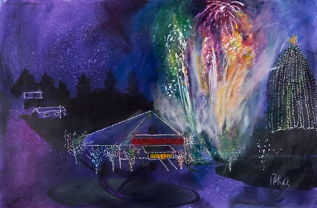Aggie Hall Fireworks