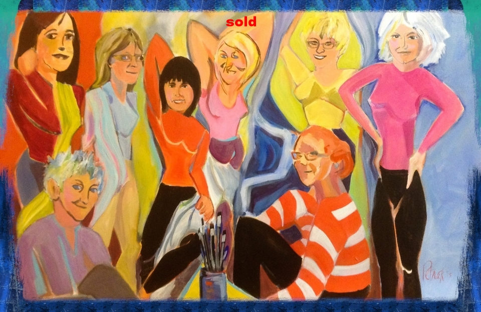 After Picasso's Demoiselles
