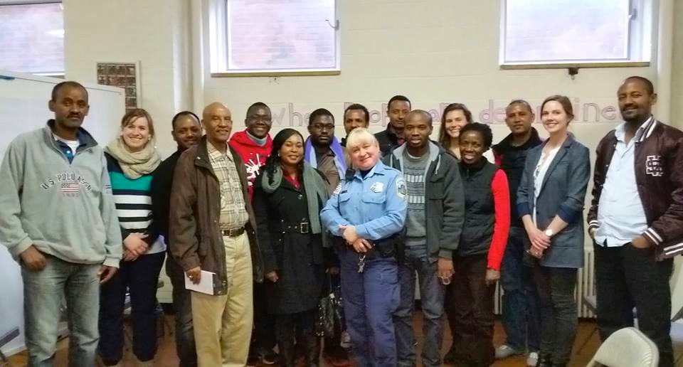 Life Skills Workshop with Washington DC's Police   Departmen t
