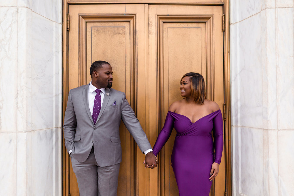 DETROIT, MI - ENGAGEMENT SESSION