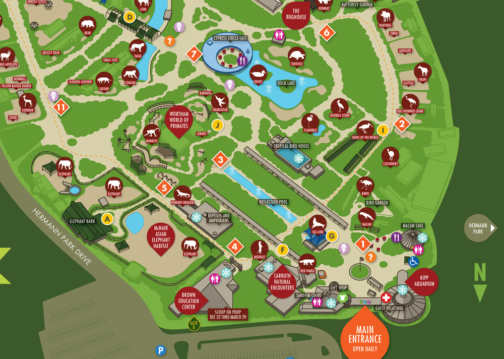 Zoo Map — Noleo Fantastico