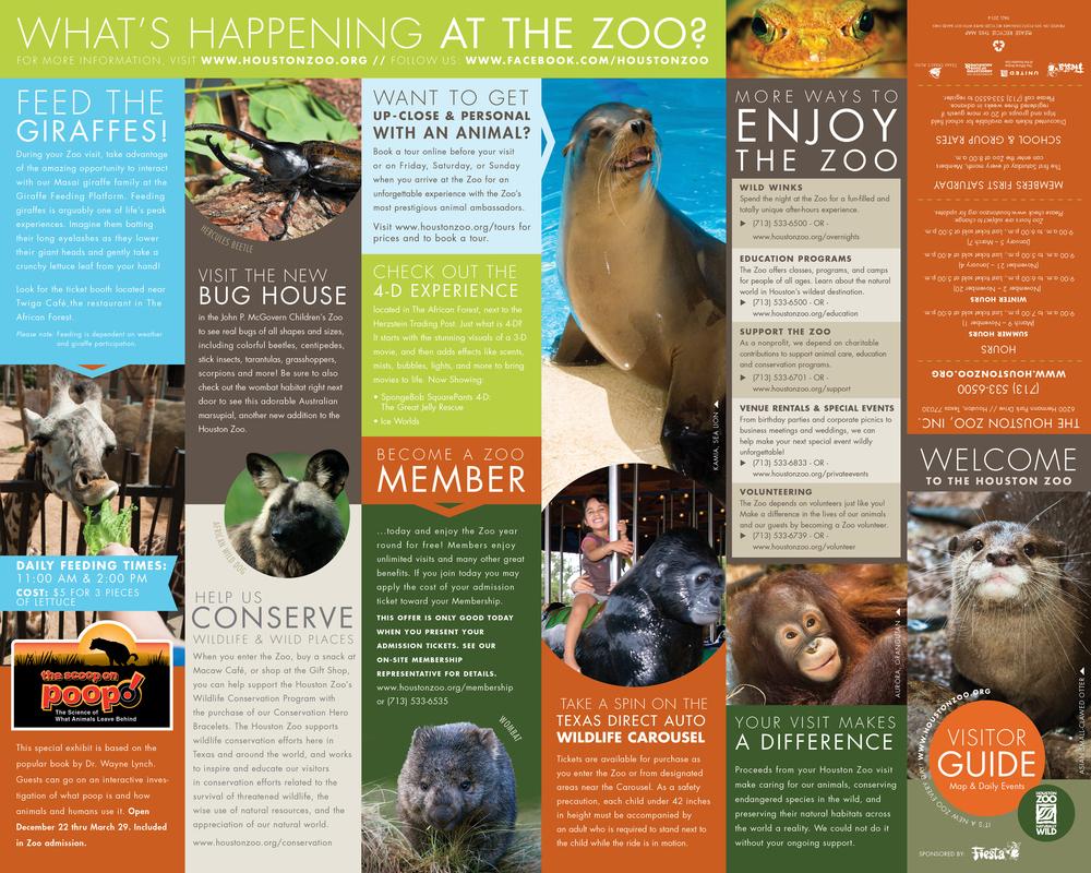 Zoo Map Noleo Fantastico - Houston zoo map