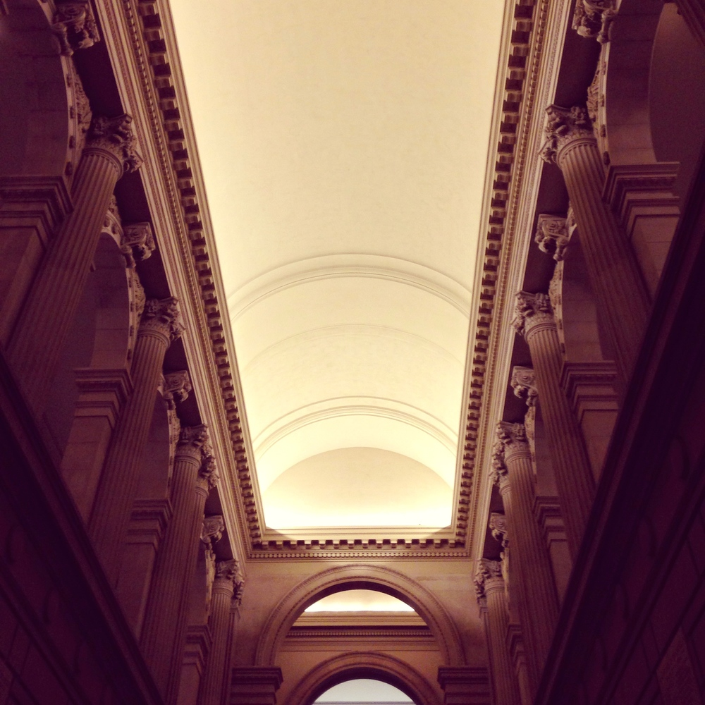 Ceiling Above Grand Staircase in Met Museum