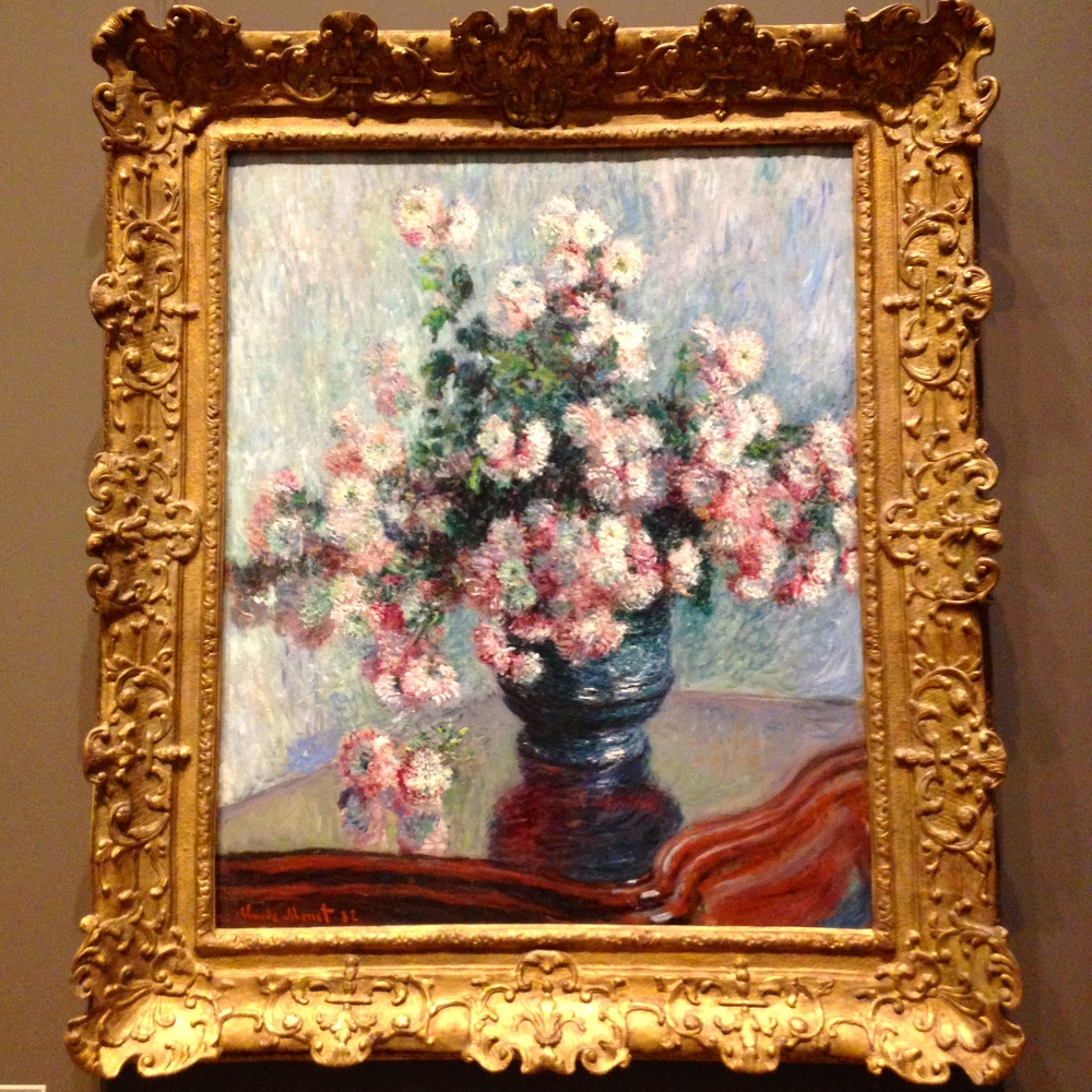 Claude Monet, Chrysanthemums, 1882
