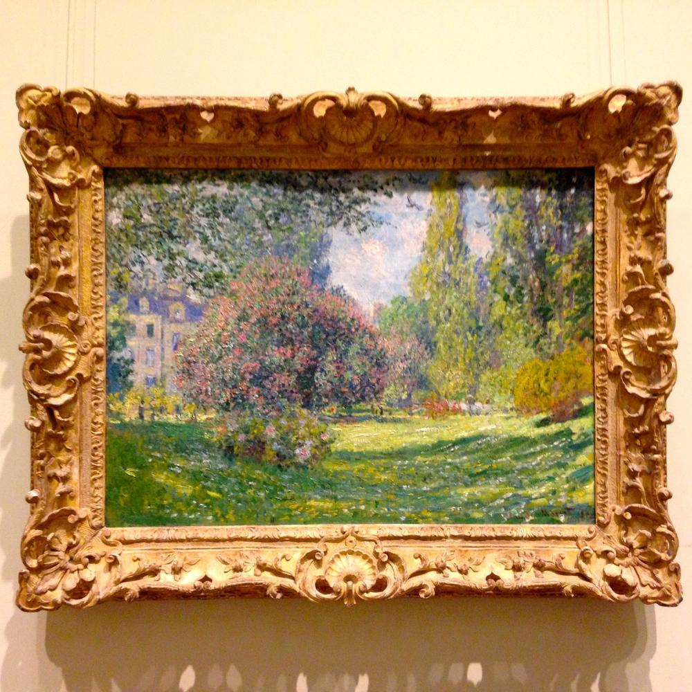 Claude Monet, Landscape: The Parc Monceau, 1876