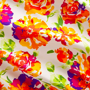 BBJ Linen - Blumen Shantung