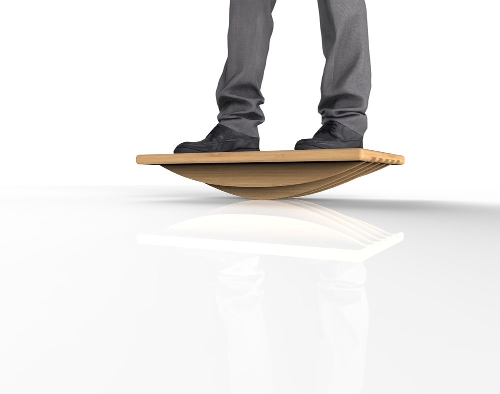 Bamboo Balance Board Concept