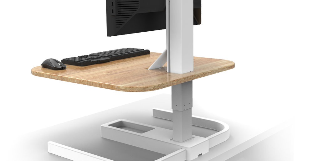 Electronic Desktop Riser