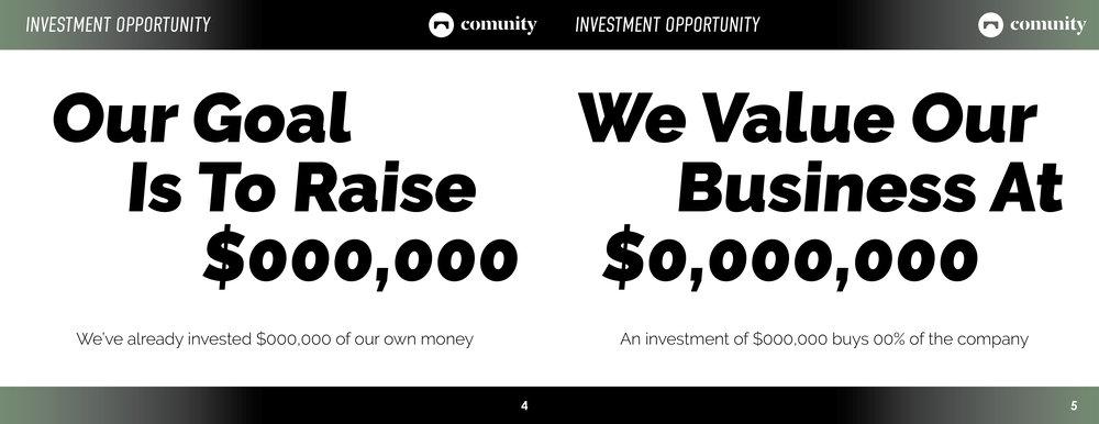 Investor Deck