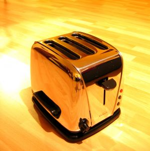 Portable Sauna's kind of look like a toaster!