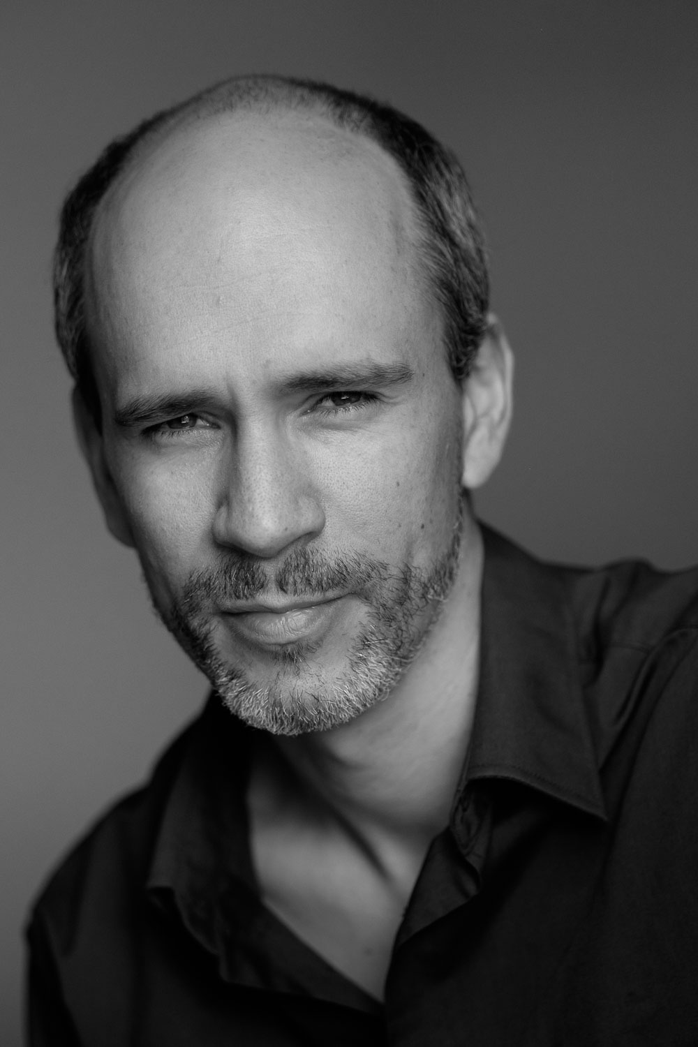 A headshot photograph of stratford actor Joseph Reany by Scott Williams.