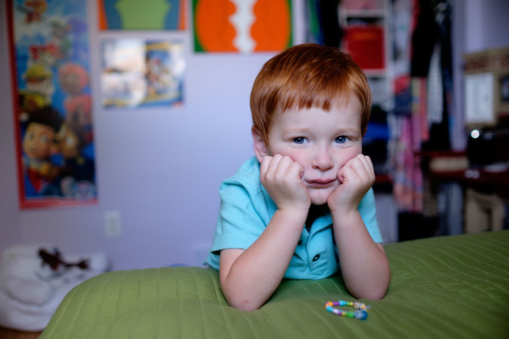 A photograph from a recent family photography session in Kitchener by Scott Williams.