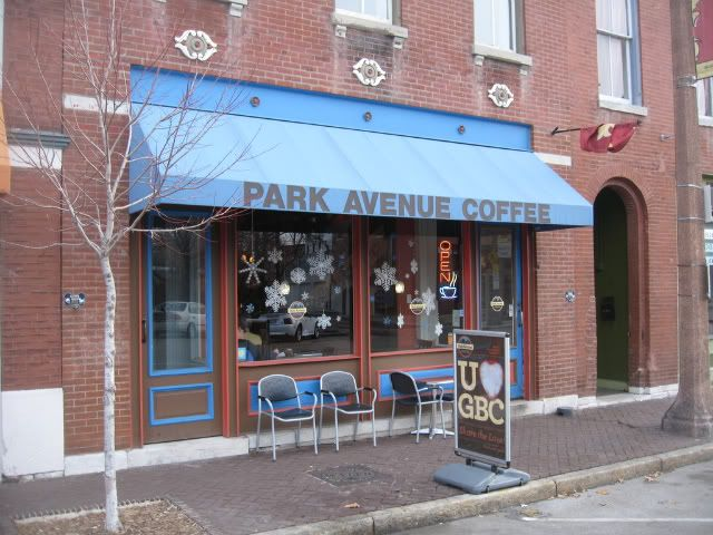Park Avenue Coffee Lafayette Square St. Louis
