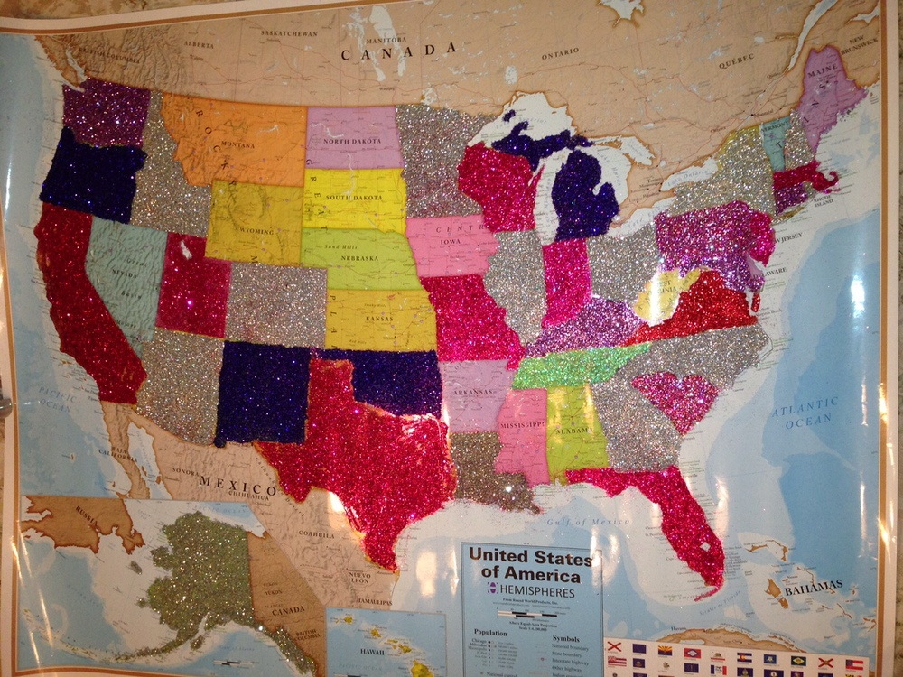 A week before last year's fundraising deadline. Still a few states left to go!