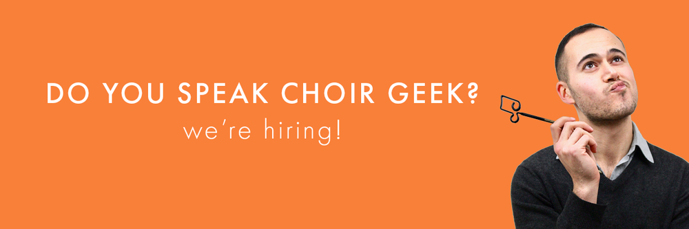 Do you speak choir geek?