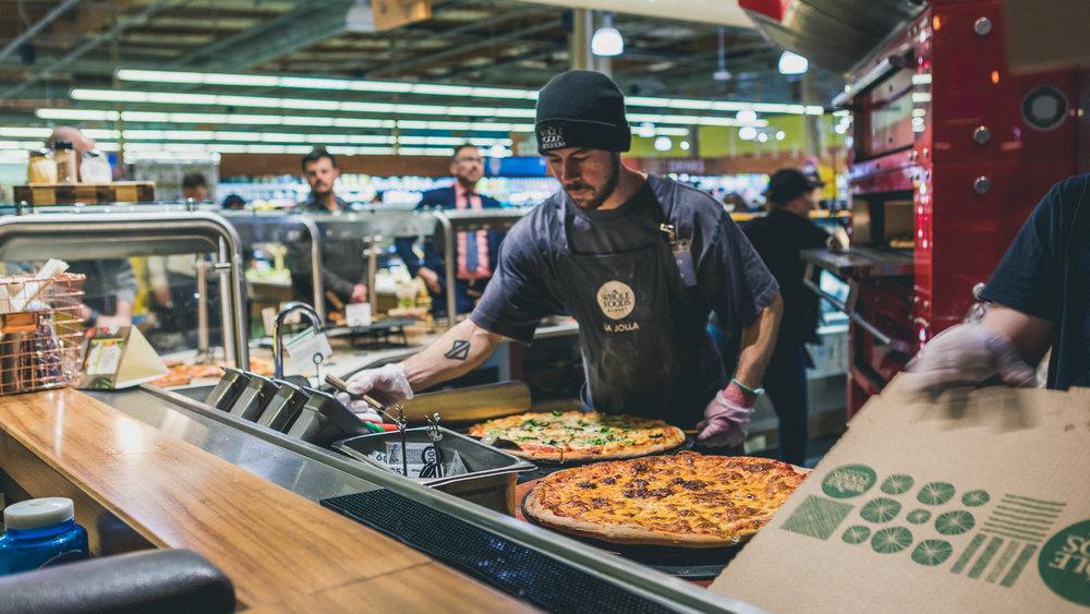 Pizza Guys, Whole Foods,La Jolla, 1.25.18