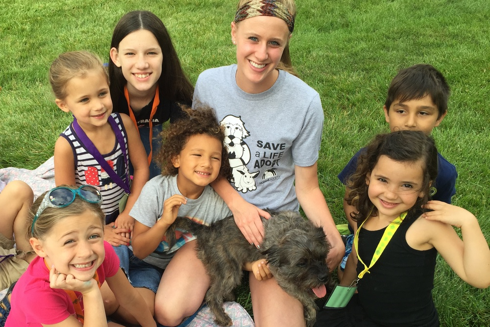 Children learn about local humane society