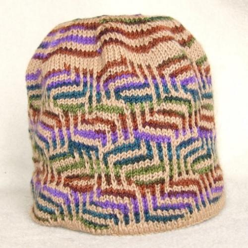 Slipstich Mosaic Hat