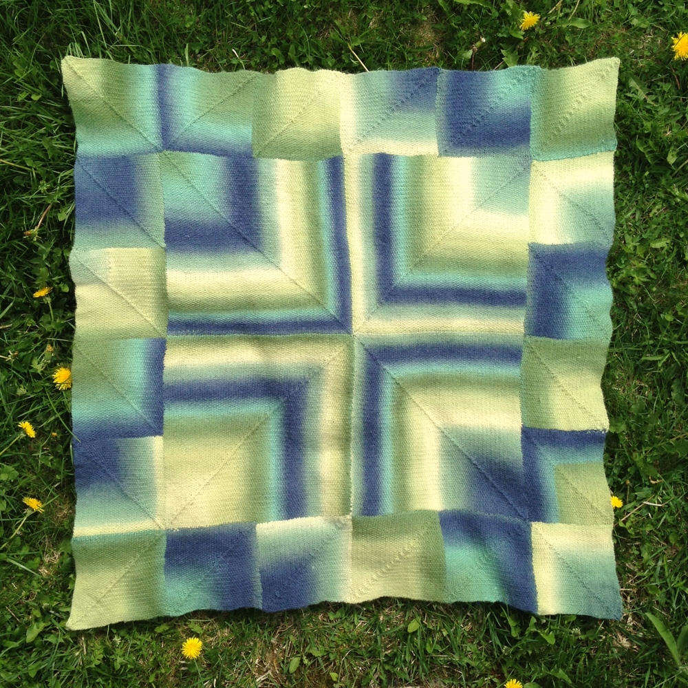 """  Ruthie's Blanket  ,"" made for my niece's daughter"