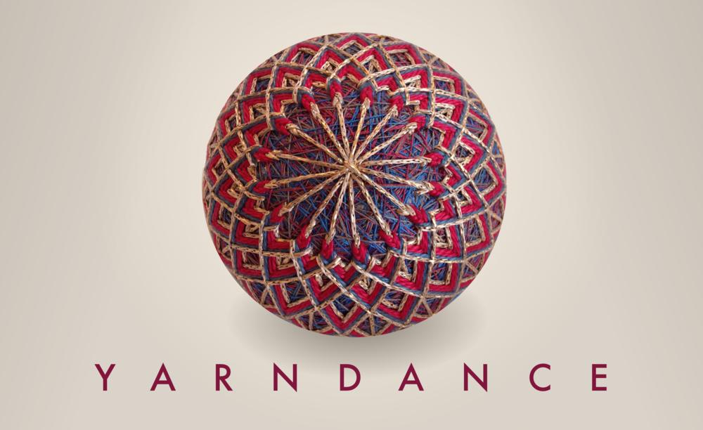 Cover,   2016 Yarndance temari calendar