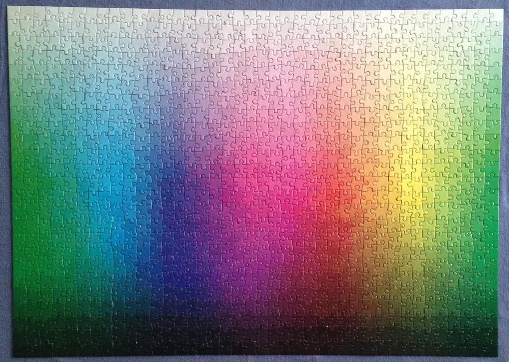 1,000 Colors Puzzle  , from Colossal