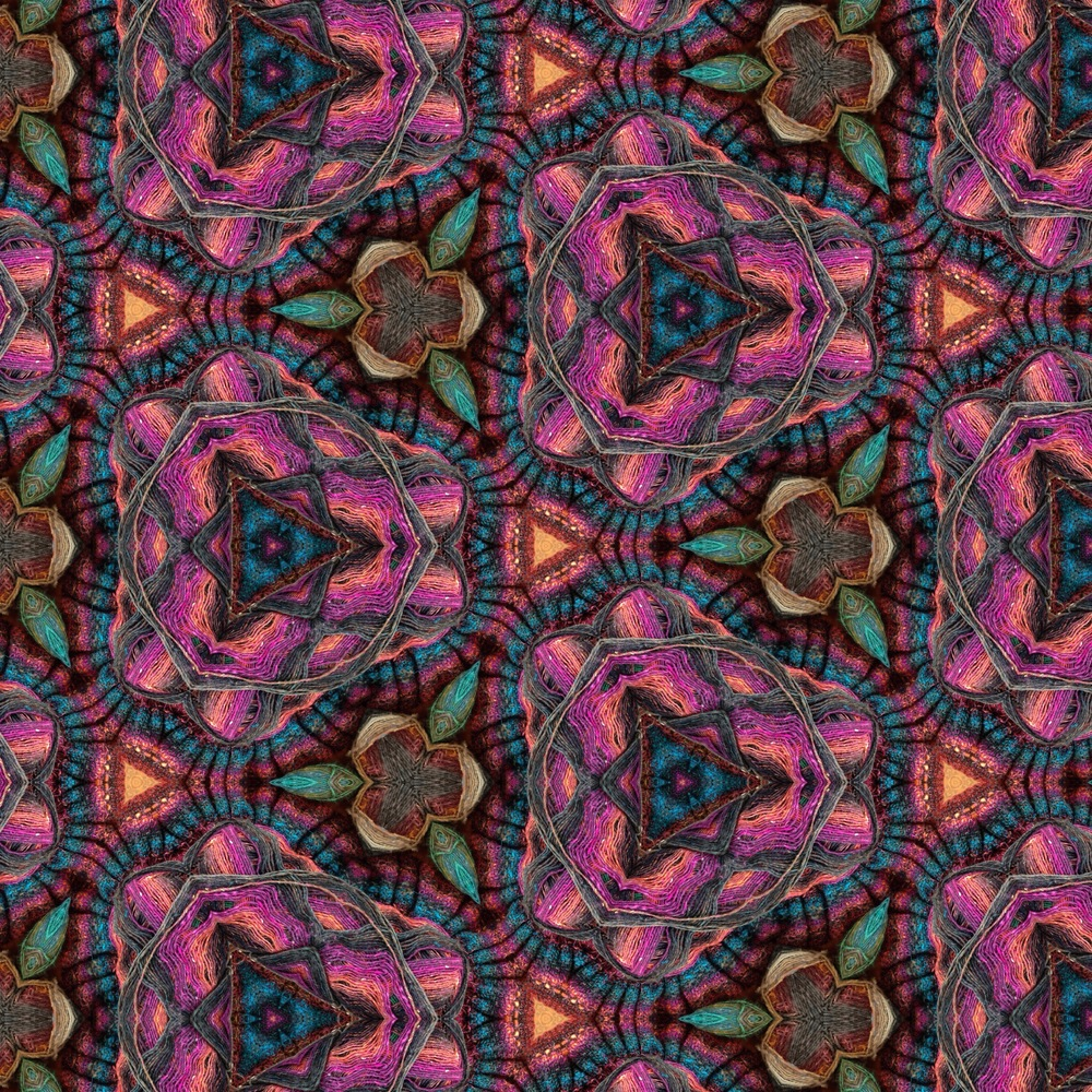 Same as the first photo, kaleidoscoped.