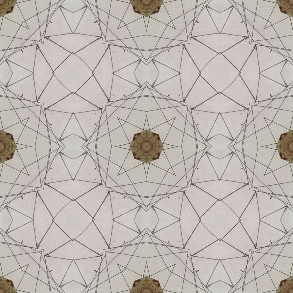 The same photo, kaleidoscoped