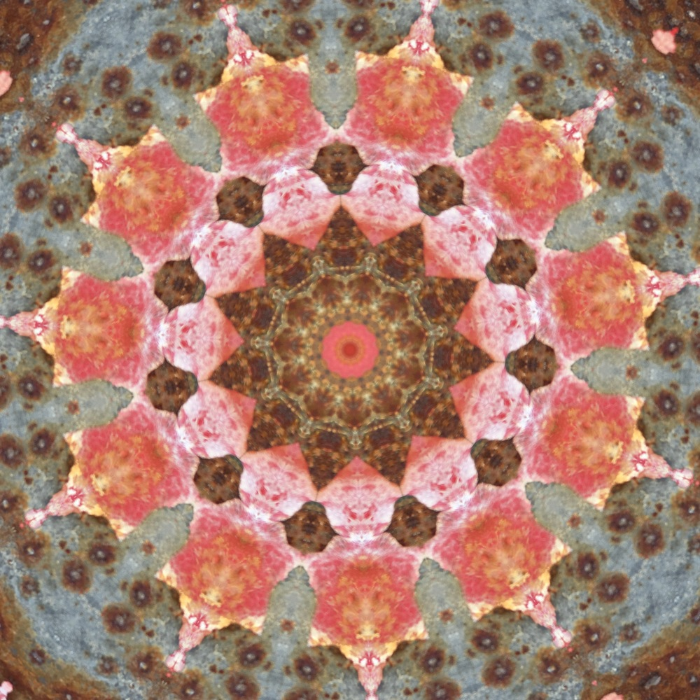 Rust, kaleidoscoped.