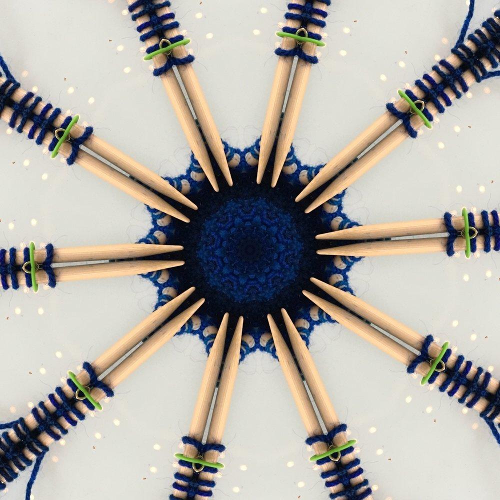 The same photo, kaleidoscoped.