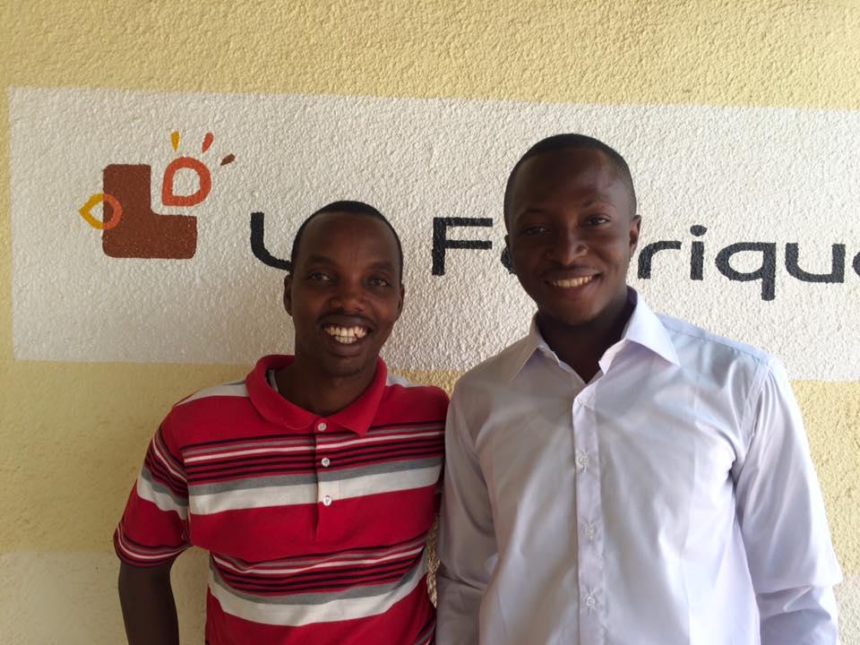 Gérard NIYONDIKO et Moctar DEMBÉLÉ - Fondateurs de FASO SOAP